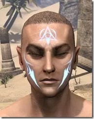 Face Imprint of the Psijic Order Male Front