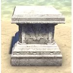Alinor Display Stand, Marble Wide