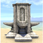 Alinor Fountain, Four-Way Timeworn