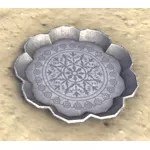 Alinor Platter, Scalloped