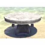 Alinor Table, Round Marble