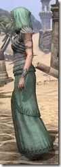 Pyandonean Homespun - Female Robe Side