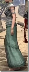 Pyandonean Homespun Robe - Female Side
