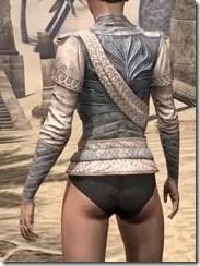 Pyandonean Iron Cuirass - Female Rear