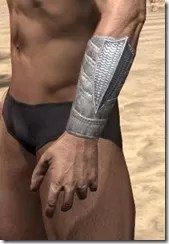 Pyandonean Iron Gauntlets - Male Side