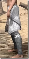 Pyandonean Iron Greaves - Female Side