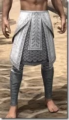 Pyandonean Iron Greaves - Male Front