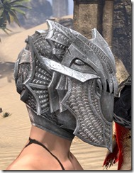 Pyandonean Iron Helm - Female Right