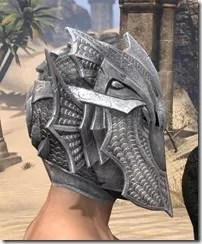 Pyandonean Iron Helm - Male Right