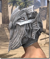 Pyandonean Iron Helm - Male Side