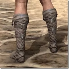 Pyandonean Rawhide Boots - Male Rear
