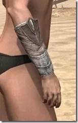 Pyandonean Rawhide Bracers - Female Right