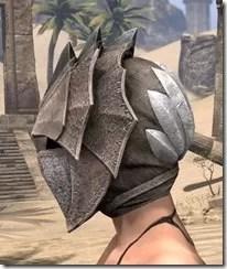 Pyandonean Rawhide Helmet - Female Side