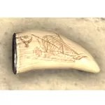 Scrimshaw, Ancient Vessel