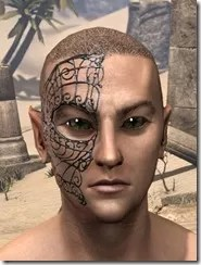 Wire Cage Half-Mask Male Front