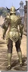 Auroran Knight Female Rear