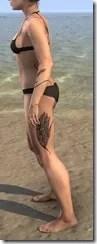 Eagle Plume Flurry Body Tattoo - Female Side