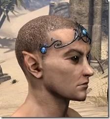 Magicka Brow Medallion - Male Side