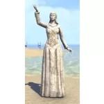 Alinor Statue, Kinlady