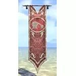 Direnni Banner, Hanging