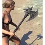 Dremora Iron Axe