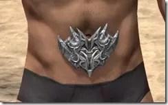 Dremora Iron Girdle - Male Front