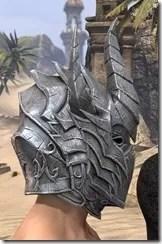Dremora Iron Helm - Male Right