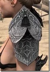 Dremora Iron Pauldrons - Female Side