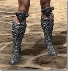 Dremora Iron Sabatons - Female Front