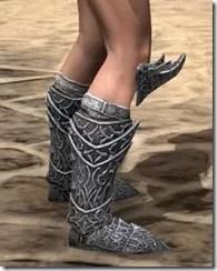 Dremora Iron Sabatons - Female Right