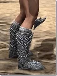Dremora Iron Sabatons - Male Right
