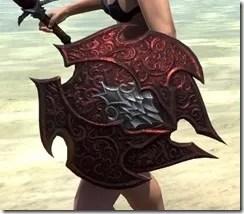 Dremora Ruby Ash Shield 2