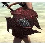 Dremora Ruby Ash Shield