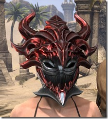 Firedrake Helm - Female Front