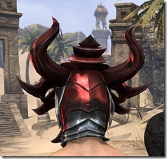 Firedrake Helm - Male Rear