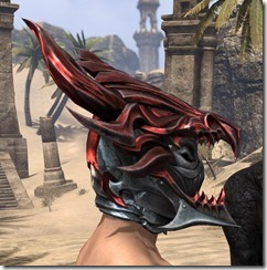 Firedrake Helm - Male Right