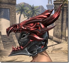 Firedrake Helm - Male Side