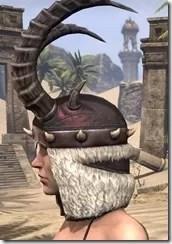 Huntsman Medium Helmet - Female Side