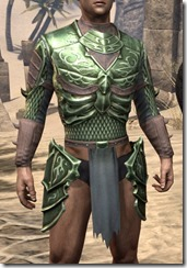 Pit Daemon Cuirass - Male Front