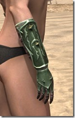 Pit Daemon Gauntlets - Female Right