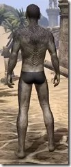 Sable Man-Beast - Male Rear