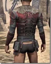 Silver Dawn Heavy Cuirass - Male Rear