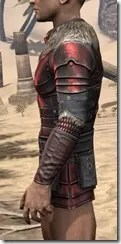 Silver Dawn Heavy Cuirass - Male Side
