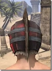 Silver Dawn Heavy Hat - Male Rear