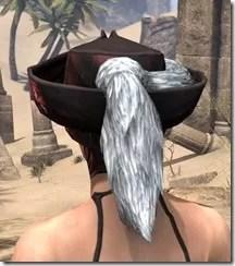 Silver Dawn Medium Helmet - Female Rear
