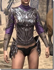 Stormlord Cuirass - Female Front
