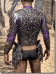 Stormlord Cuirass - Male Rear