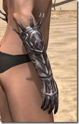 Stormlord Gauntlets - Female Right