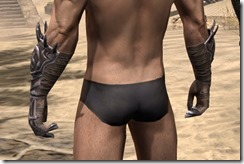 Stormlord Gauntlets - Male Rear