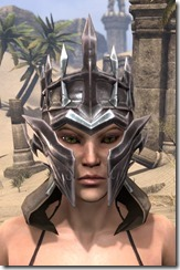 Stormlord Helm - Female Front